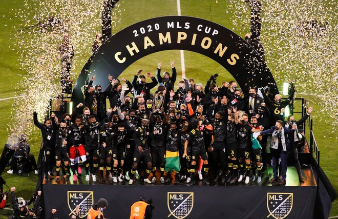Columbus Crew SC are the 2020 MLS Cup Champions after beating Seattle Sounders FC 3-0 at MAPFRE Stadium in Columbus, Ohio on December 12, 2020.
