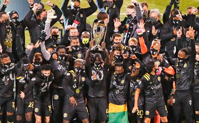 Columbus Crew SC is the 2020 MLS Cup Champions after beating Seattle Sounders FC 3-0 at MAPFRE Stadium in Columbus on Saturday night.