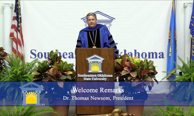 SOSU held a virtual commencement ceremony in 2020.