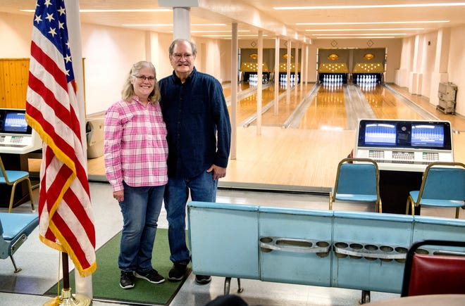 Jim and Christine Seppelt are the caretakers of the St. Boniface Bowling Alley, 1010 S. Louisa St., at St. Ann Catholic Church on Peoria's south side. The popular four-lane alley hosted parties and a couple of leagues until the COVID-19 pandemic shut it down.