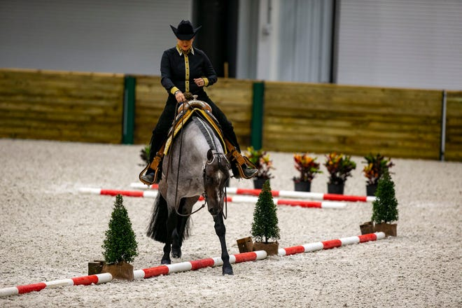 The World Equestrian Center west of Ocala is hosting a dressage event this weekend.