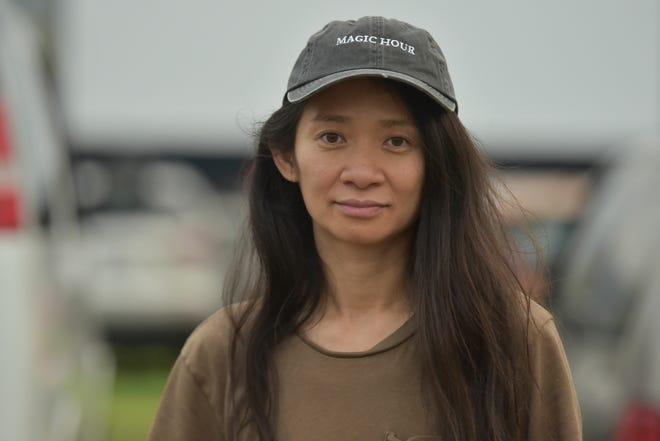 """Chloe Zhao directed """"Nomadland"""""""