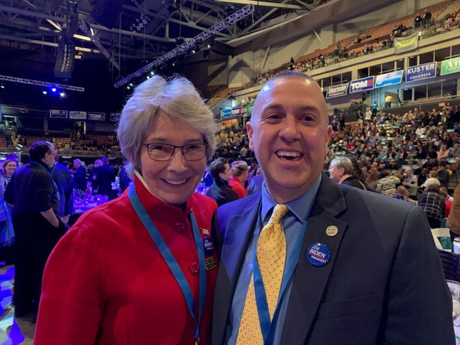 Portsmouth resident Mary Carey Foley and Somersworth Mayor Dana Hilliard are two of New Hampshire's four electors who cast their Electoral College votes for President-elect Joe Biden in December.