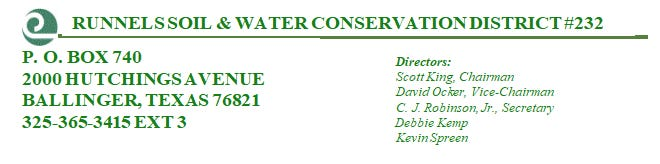 Runnels Soil & Water Conservation District #232