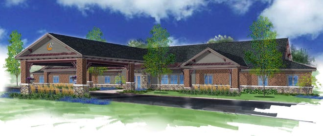 This is a Beehive memory care center in Springboro. A similar one is proposed for the Carriage Hill development in Liberty Township.