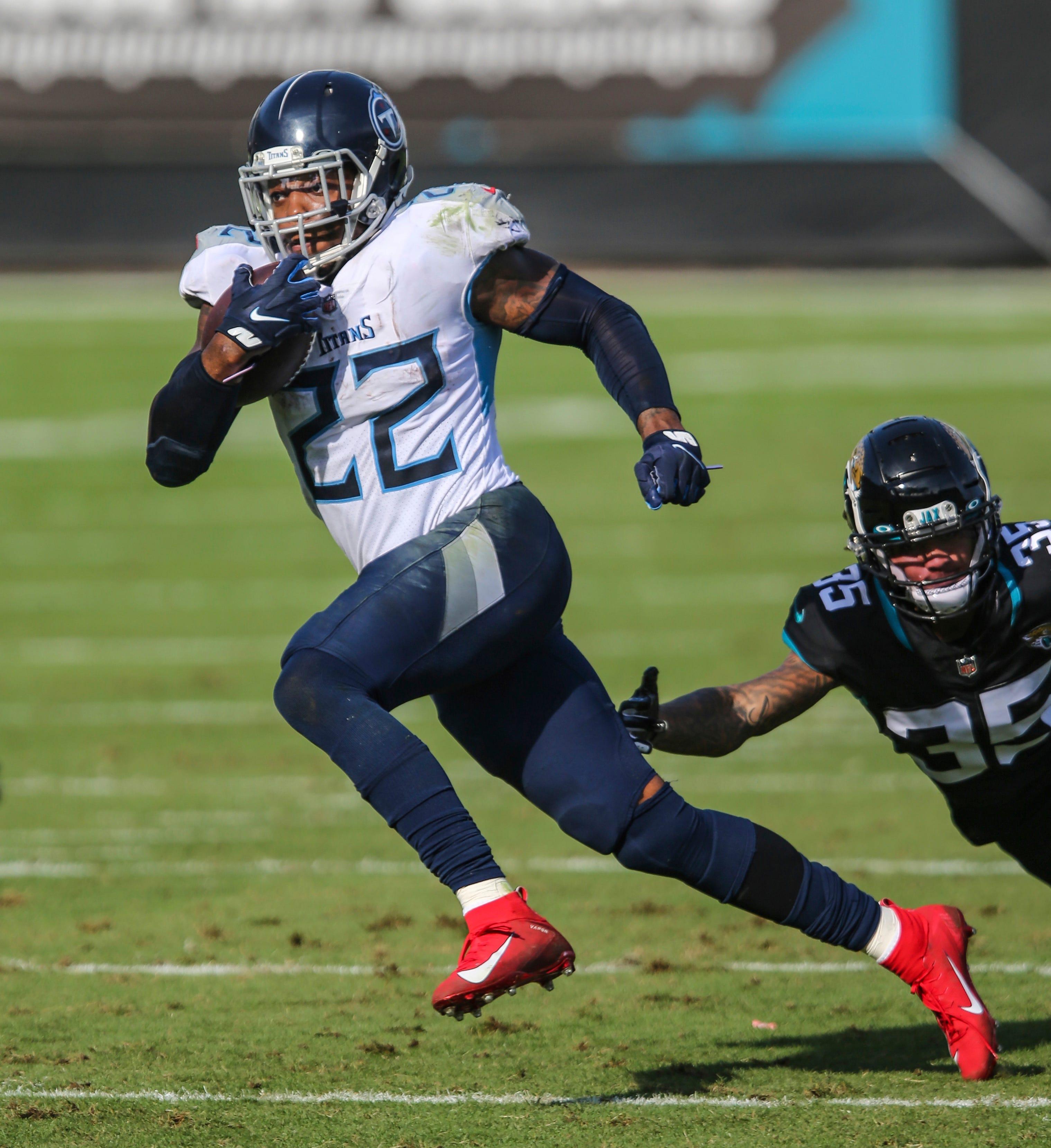 Derrick Henry runs over Jaguars as Titans clinch fifth straight winning season