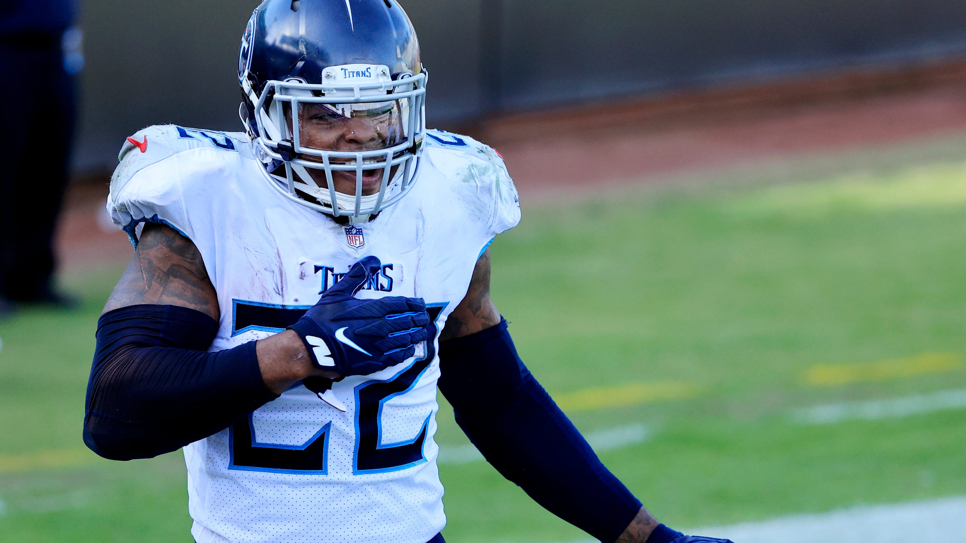 Derrick Henry's record-setting performance gets Titans back on track