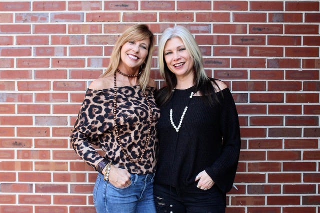 Kelley Ausley and Shelly Ruthstrom, co-owners of Rebels Midtown Boutiquehave donated money from mask sales to nonprofits.