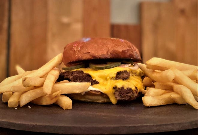 The new Thursday special smashburger from Huckleberry.