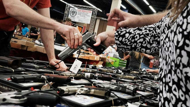 Legislation was reintroduced in Congress to extend background checks to transactions conducted by private and unlicensed gun sellers.