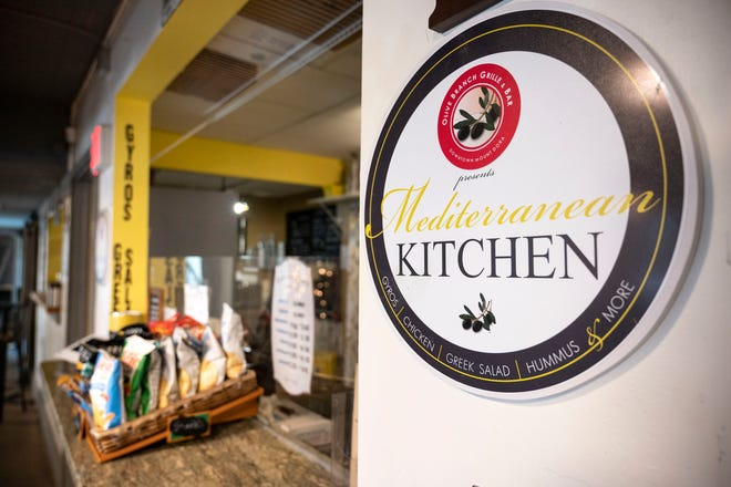 Mediterranean Kitchen, 334 N Donnelly Street in Mount Dora, is open 11 a.m. to 3 p.m. Wednesday and Thursday, 11 a.m. to 4 p.m. Friday and Saturday and 11 a.m to 3 p.m. on Sunday. [Cindy Peterson/Correspondent]