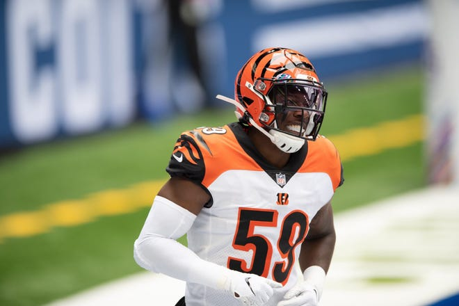Thomasville native Akeem Davis-Gaither, who plays for the Cincinnati Bengals, has organized a coat drive for students in grades kindergarten to 12th grade. Coats or monetary donations will be accepted through Jan. 1 and distributed by Davis-Gaither and several family members at the Thomasville Police Department on Jan. 10.