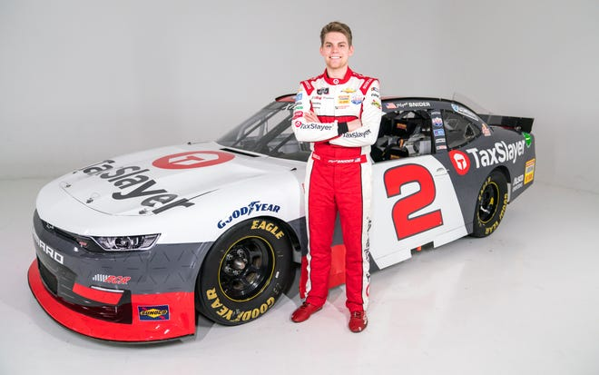 Myatt Snider is joining Richard Childress Racing a full-time driver in 2021.