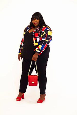 Erie artist Antanequiaa Da BBW, also known as Antanequiaa Gamblee, attacks stereotypes pertaining to her appearance in a fun-loving way to show others that confidence is key.