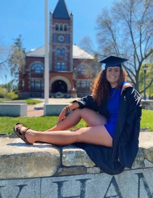 Bridget Bailey, who graduated from the University of New Hampshire in May 2020 is relieved folowing an extension of the student loan moratorium. She is fnding the job search process is difficult amid the ongoing coronavirus pandemic.