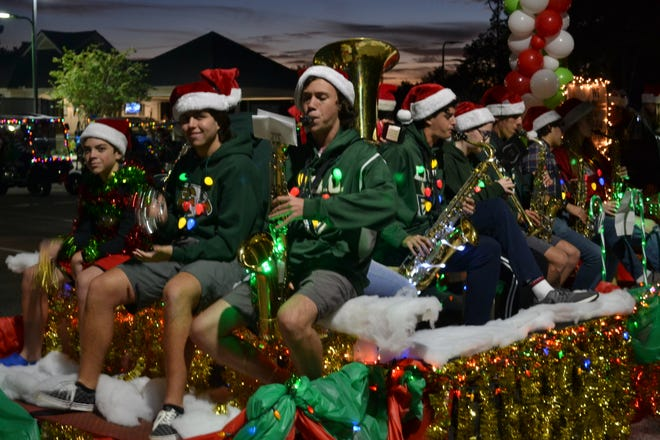 FREBO started with four neighbors but grew to 15 members for an Eagle Harbor holiday parade in December.