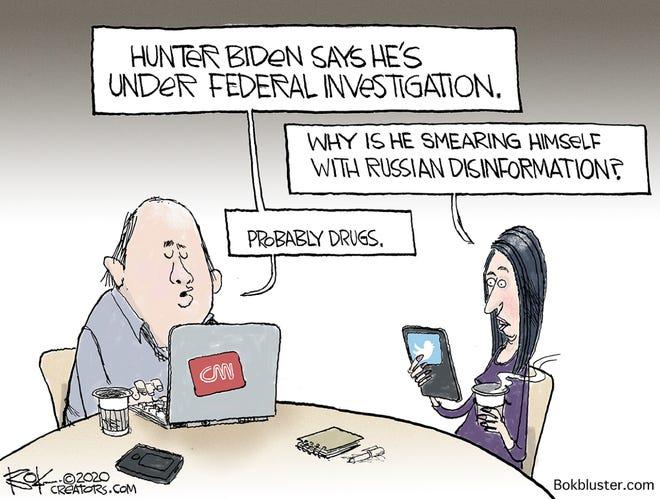 Today's editorial cartoon (Dec. 15, 2020)