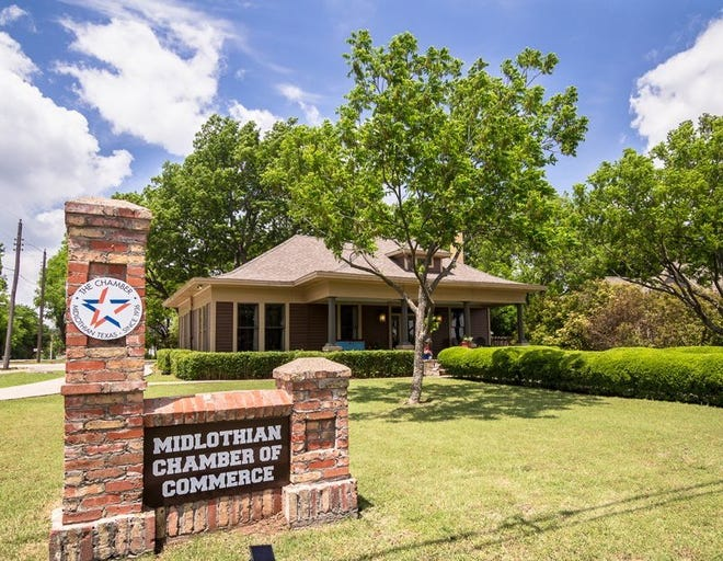 The Midlothian Chamber of Commerce headquarters.