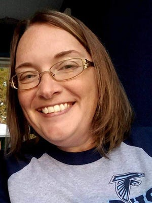 Amy Cowgill just wrapped up her 16th season as Frankfort's football announcer.