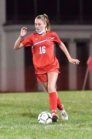 Pal-Mac's Maya Ikewood scored 23 goals last fall in just 12 games as a freshman.