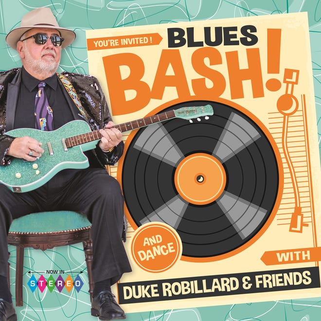 """Blues Bash"" is the latest album from blues giant Duke Robillard."