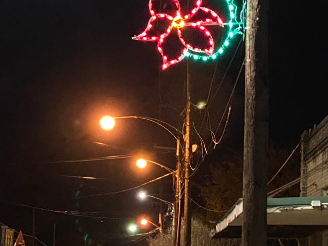 Pictured are a sample of Christmas lights purchased by the Plaquemine Main Street Program for Eden, Church, and Main Streets and Railroad Avenue.