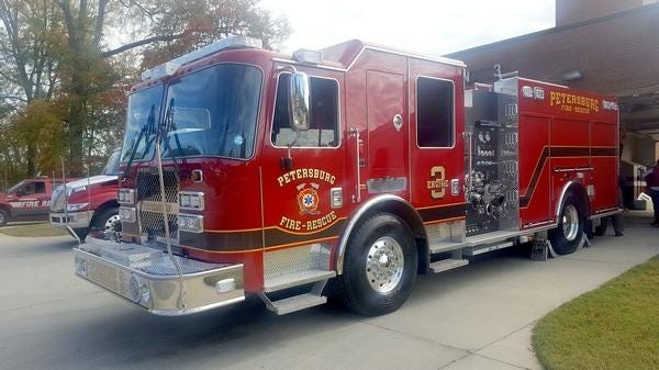 Petersburg has narrowed down its search for a fire chief to three candidates.