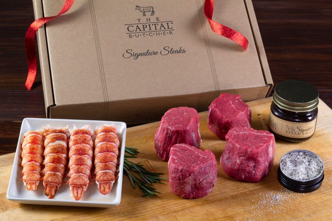 Gift boxes to go are being offered from Capital Grille for the holiday season.
