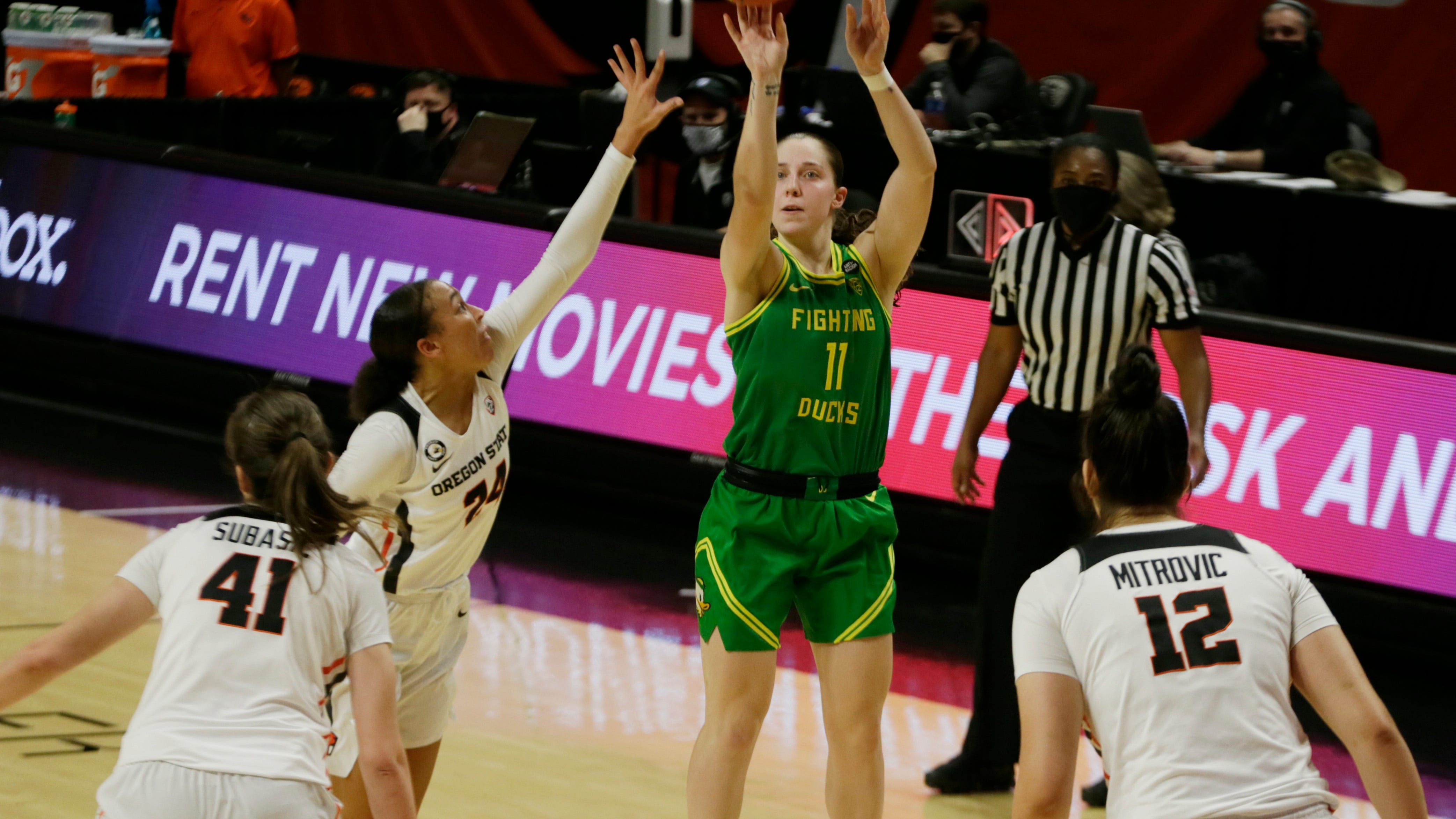 Jackson grad Mikesell adjusts to move to Oregon