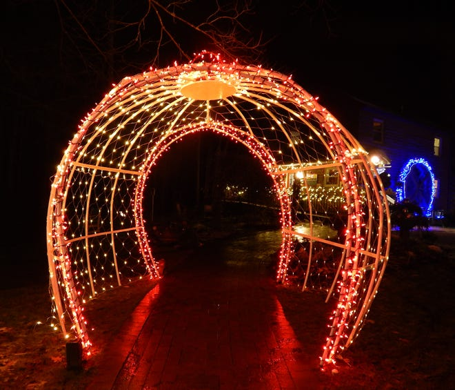 HOLIDAY LIGHTS.  Beech Creek Botanical Garden & Nature Preserve has been transformed with holiday lighting displays for the fourth annual Holiday Nights, Garden Lights celebration, which includes a make-and-take ornament project, elf dance party and wild critters to see up close. Hours are 5 to 9 p.m. Friday, Saturday and Sunday through Dec. 20, and 5 to 9 p.m. Dec. 26 through 30.  Mask wearing and social distancing are required, and attendance is limited. Admission is $7 for ages 3 and older, free for 2 and younger. Beech Creek is at 11929 Beech St. NE in Washington Township. For more information, visit BeechCreekGardens.org.