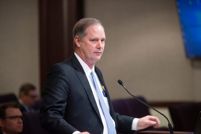 Senate President Wilton Simpson, R-Trilby.