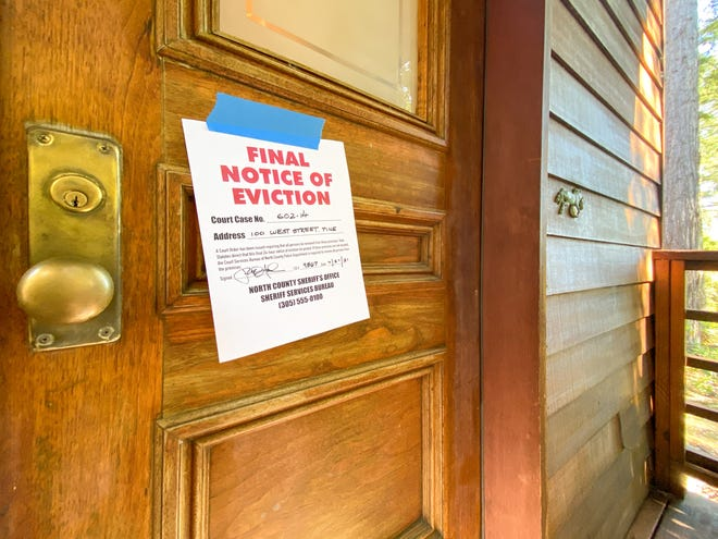A landlord cannot evict residents who have not paid rent between Sept. 4, 2020, and Jan. 31.