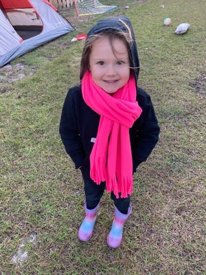 Aurora Michelli of Belville Elementary is Brunswick County's Student of the Week.