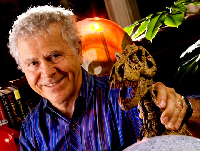Homer Hickam, a Huntsville based author and adventurer, has published 18 books, been a decorated soldier in the U.S. Army, and worked for NASA, helping train astronauts for space shuttle missions. Hickam lives in Huntsville and the U.S. Virgin Islands. [Staff Photo/Gary Cosby Jr.]