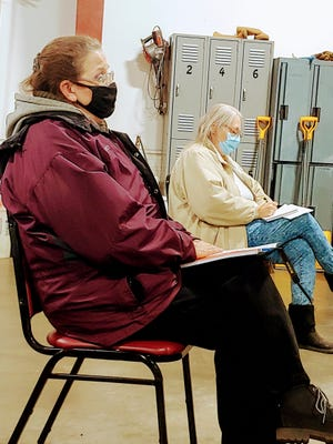 """Deborah Ramsey, left, submitted her letter of resignation to the town board """"with a sad heart"""" this week."""