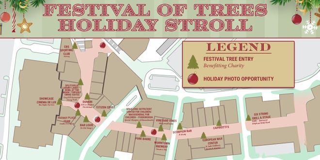 Patriot Place announced that guests can enjoy the socially distanced Festival of Trees Holiday Stroll, featuring the work of Patriot Place's shops, restaurants and offices, from Dec. 11 through Dec. 19.