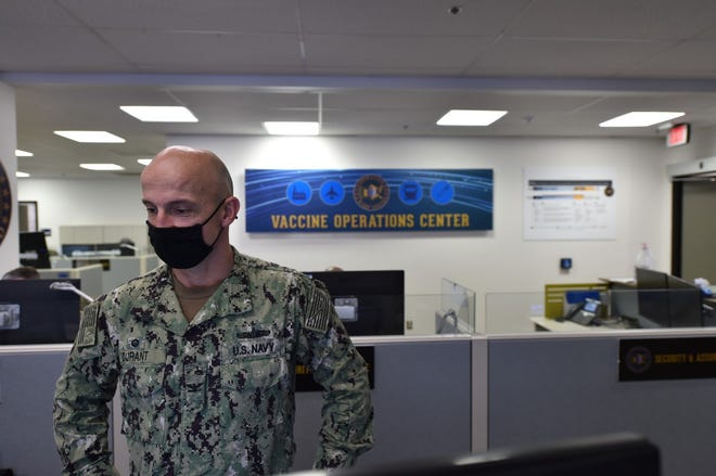 Weymouth Navy Capt. Brian Durant.