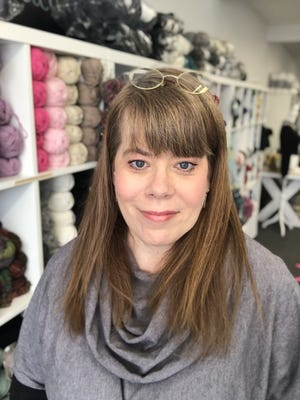 Staci Carey, owner of Staci's Stitches, feels more awareness of North Scituate, including a proposed visitors' center, will increase foot traffic to the area, benefiting the local businesses.