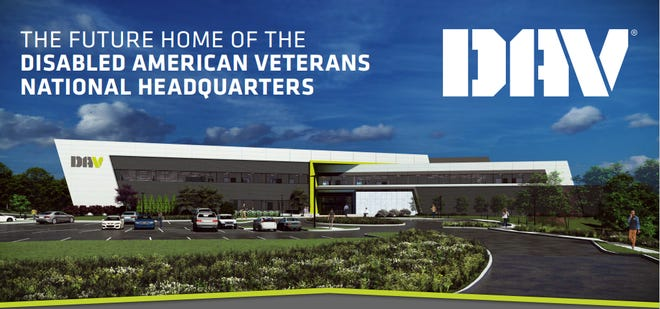 A rendering of the new Disabled American Veterans Erlanger-based headquarters.