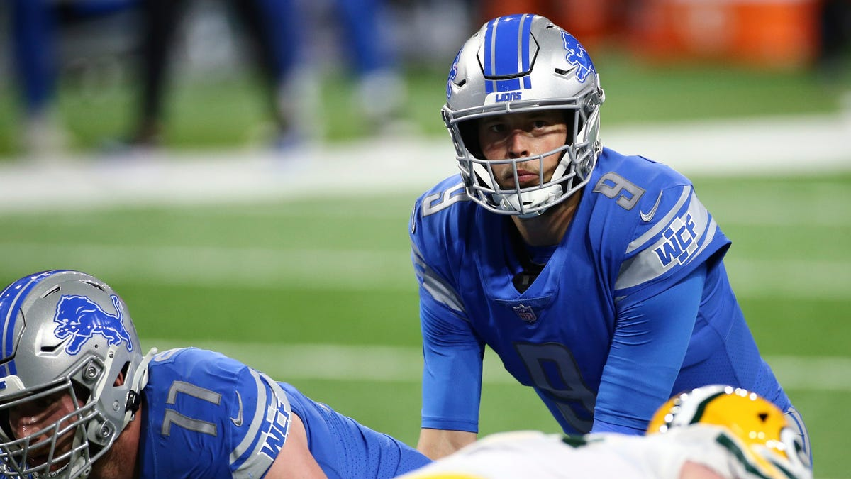 Lions' QB swap, shipping Stafford to Rams for Goff and picks, is now official 2