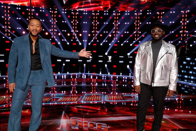 "John Holiday, a voice professor at Lawrence University in Appleton, will represent John Legend's team in ""The Voice"" finals."