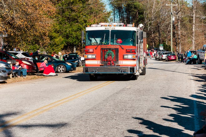 The annual Slater-Marietta Christmas Parade.The parade began at Slater-Marietta Elementary School and went down Slater Road towards Greer Highway Sunday December 13, 2020.