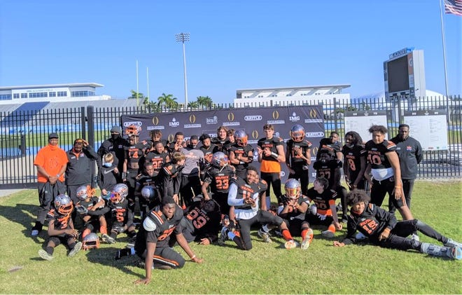 The Mississippi Wolfpack 14-and-under football program.