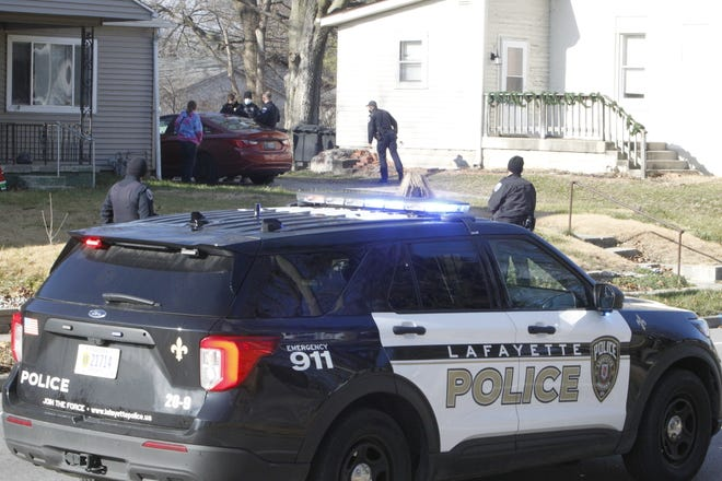 Lafayette police investigated a report of shots fired in the 1500 block of South Fourth Street on Monday, Dec. 14, 2020. Police were called about 1 p.m. after an argument ended with a man allegedly fired a gun. No one was injured, and one man was arrested.