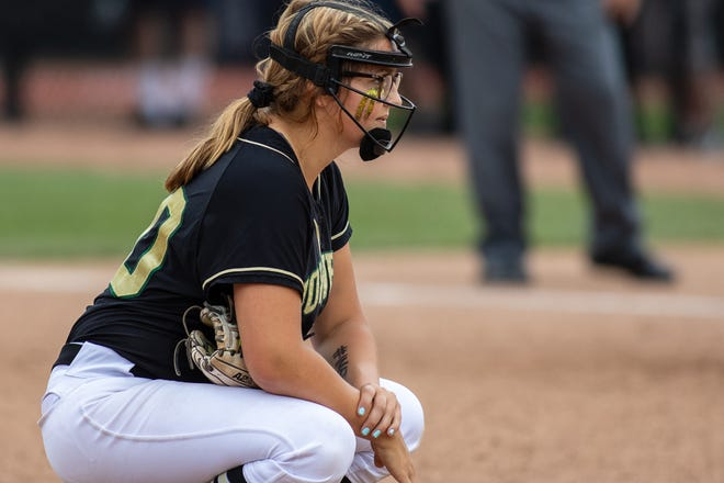 Molly Carney pitched Howell to the state championship softball game in 2019.