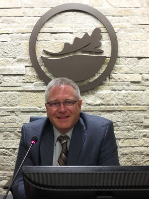 Oak Creek Mayor Dan Bukiewicz poses inside city hall. Bukiewicz thinks addressing resident concerns will be a lot easier once the city launches a new program aimed at streamlining the process for handling those complaints.