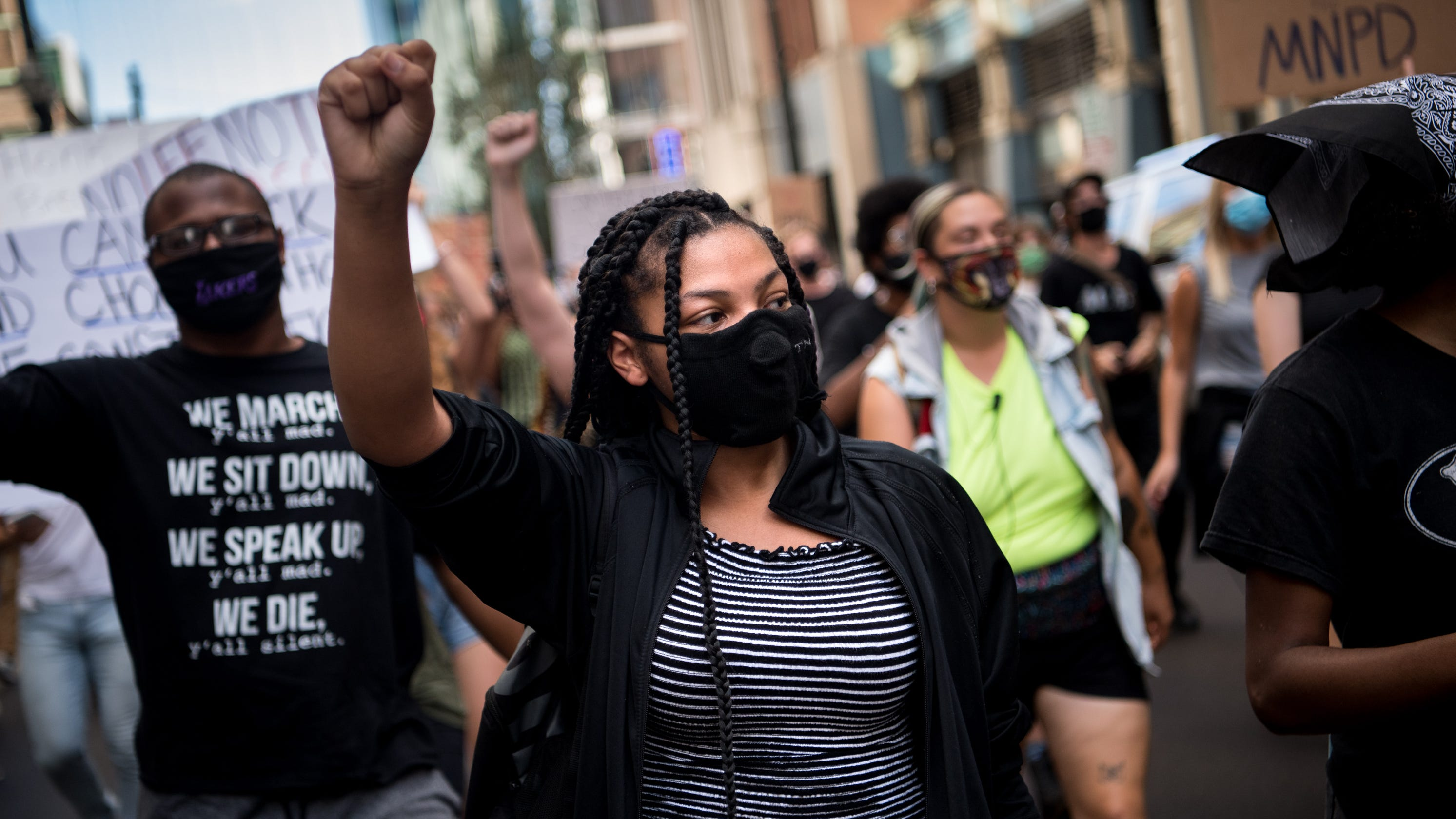Tennessee bill offering immunity to some drivers hitting protesters dies for year