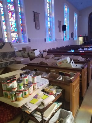 Recently the Northern New Jersey Community Foundation donated turkeys to Tri-Arc Community Development Corporation in Hackensack to help feed seniors. The food at Christ Episcopal Church in Teaneck.