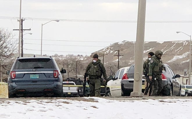 An officer-involved shooting left one person dead on the morning of Dec. 14 on West Murray Drive in Farmington in front of Life Care Center of Farmington at 1101 W. Murray Dr.