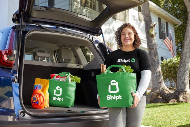 Shipt has announced a new partnership with Dollar Tree piloting in Fort Gratiot and Marysville that provides local families a contactless shopping option during the holiday season.